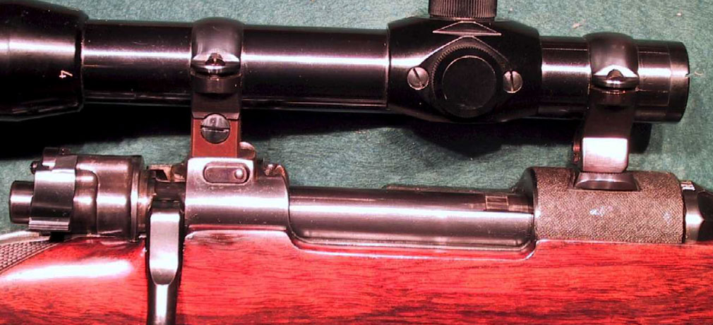 Mauser Claw Mount Scope Rings